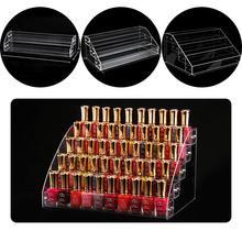 ФОТО makeup organiser cosmetic box nail polish storage gift display box jewels case