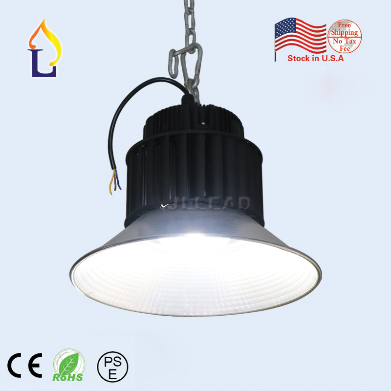 US stock 6pcs/lot led high bay lights 100W 150W 200W LED Highbay SMD3030 AC100-277V Industrial lighting 2 years warranty fedex free shipping high bay light 60w smd3030 cree chips best price led high bay ac100 277v new highbay light 5pcs lot