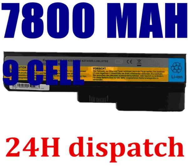 Batería del ordenador portátil Para Lenovo 3000 G430 G530 G550 G555 G450 G455A L08O6C02 L08S6C02 LO806D01 L08L6C02 L08L6Y02 L08N6Y02