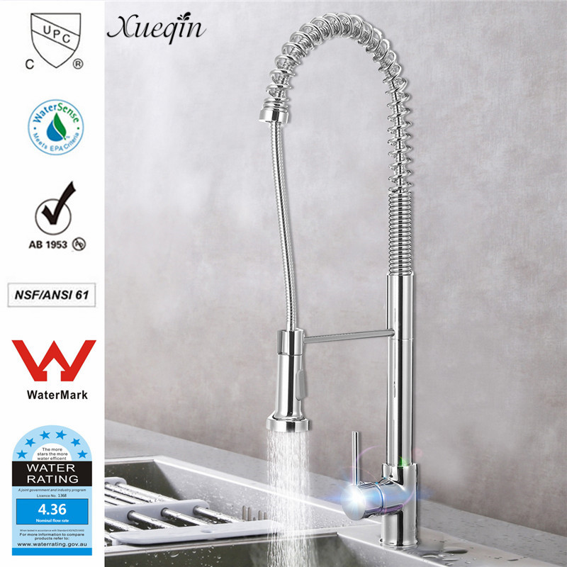 Здесь продается  Xueqin Watermark&Wels Stainless Steel Kitchen Faucet DR Brass Construction Ceramic Cartridge Zinc Handle With Two Braided Hoses  Строительство и Недвижимость