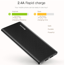 Baseus M10 10000mAh Gaven Dual-Output Power Bank For Mobile Phone Tablet MP3 MP4