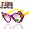 2016 Nova Moda Infantil Óculos de Sol Meninos Meninas Crianças Bebê Criança óculos de Sol Óculos UV400 espelho óculos de Preços Por Atacado G003