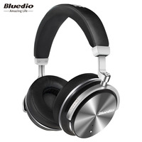 2017 New Headphone Earphones Bluedio T4S Bluetooth Headphones Headset Portable With Microphone For Music Earphone