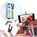 Universal auto selfie stick monopod para iphone 6 plus palo selfie cámara suporte remoto cable párr selfie para samsung android IOS