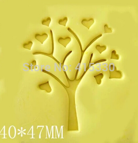 Hearts Tree Handmade Resin Soap Stamp Seal Soap Mold Mould soap handmade resin soap stamp seal soap mold mould 1 97 x1 57