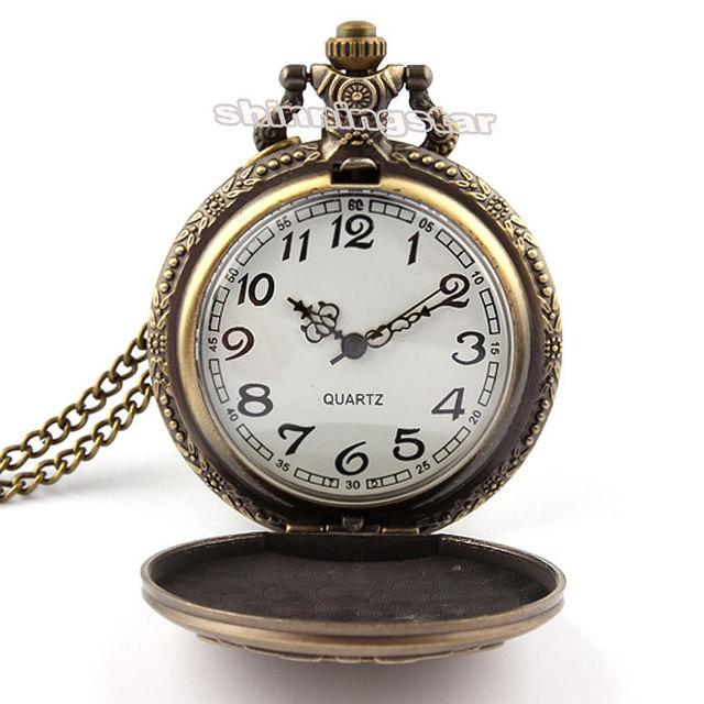 Chrono Express – Mechanical Steampunk Pocket Watch
