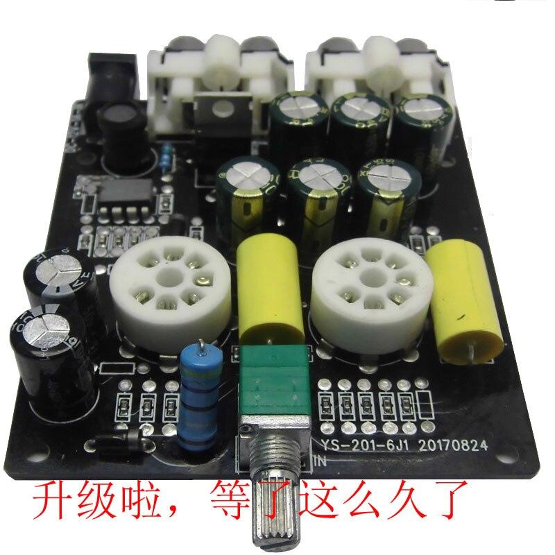 Pré-amplificateur de Tube électronique fièvre 6J1, vésicule biliaire 6j2, tampon biliaire de niveau avant, vésicule biliaire, kit de bricolage, panneau de produit fini.