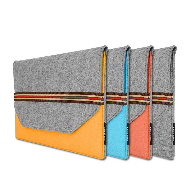 Wool Laptop Sleeve for Macbook Air Pro 11 15 inch Case Business Notebook Bag Cover Case for Xiaomi Dell Lenovo HP for Men Women