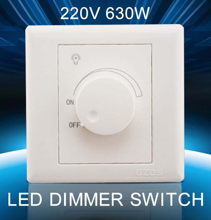 New 630w220v Led Scr Dimmer Switch Adjustable Controller