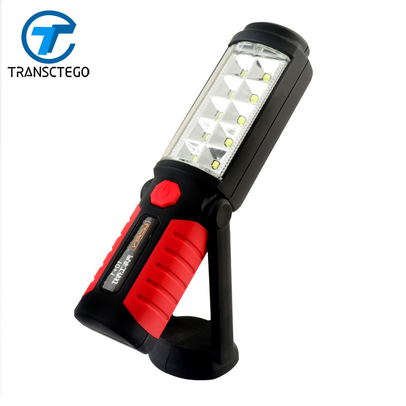 Car repair LED work lights on the emergency light of the car magnets 360 degrees outdoor lighting maintenance lamp
