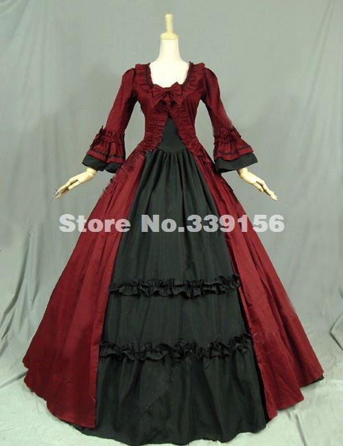 Online get cheap victorian steampunk wedding dress for Cheap wedding dress costume