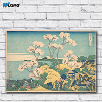 Large Size Printing Oil Painting Mount Fuji By Hokusai L 09 Wall Art Canvas Print Pictures