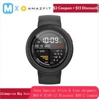 [English Version]Amazfit Verge Watch Smart 3 Sport Watch Phone Call GPS Smartwatch IP68 5 DAY BATTERY LIFE PHONE CALLS