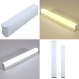 Image 5 - DONWEI מקורה דקור קיר 12 W 16 W אור LED בר סופר מבריקה מנורת צורת עבור חדר שינה חדר אמבטיה אורות מראה מטבח