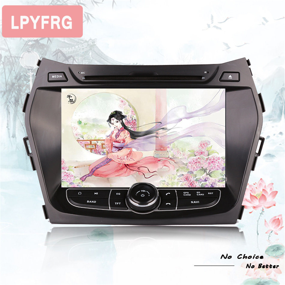 Android 9 0 car CD dvd for Hyundai IX45 Santa fe 2013 2014 2015 2016 2017