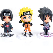 Naruto Action Figure Toys 12 Styles PVC Toy