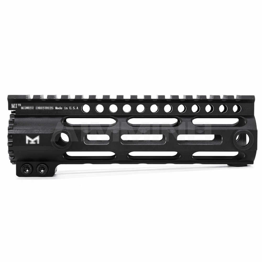 "AR-15 M4 M16 Mlok 7 ""9"" 12 ""15"" Inch Slim Gratis Float Handguard Picatinny Rail Mount beugel Voor Jacht Tactical Rifle Scope Mount"