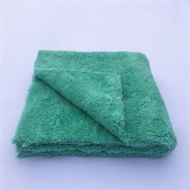 """50 pacote 450gsm edgeless nenhuma toalha de microfibra do risco 16 """"x16"""" superior carro polimento, lustrando detalhando toalha"""
