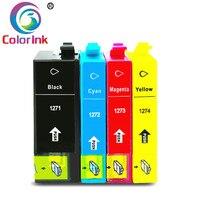 ColoInk 4 пачка чернил для Epson 127XL T1271 чернильный картридж для Epson Workforce 60 630 545 840 845 3530 3540 7520 7010 7510