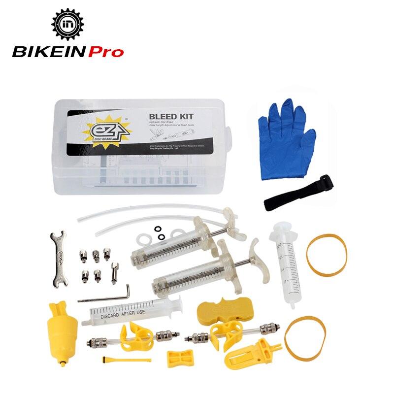 Professional Hydraulic Disc Brake Bleed Kit For Shimano/Tektro/Magura MT/Avid/Sram/Hayes/Formula Mineral Oil DOT Brake System tektro 300 hydraulic disc brake