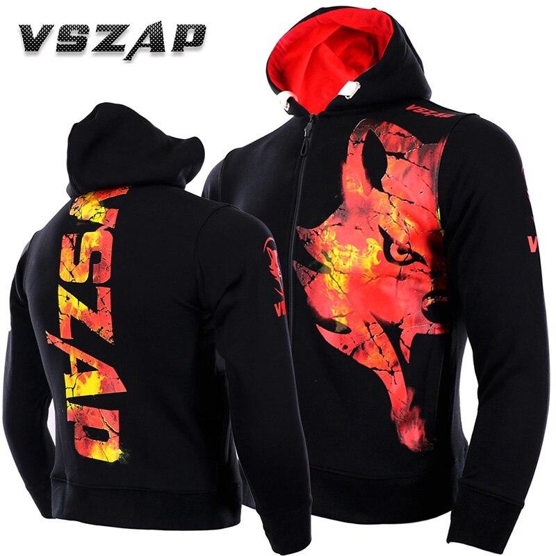 VSZAP Autumn And Winter MMA Boxing Jacket Fitness Sweatshirt Vszap Genuine Mma Fighting Muay Thai