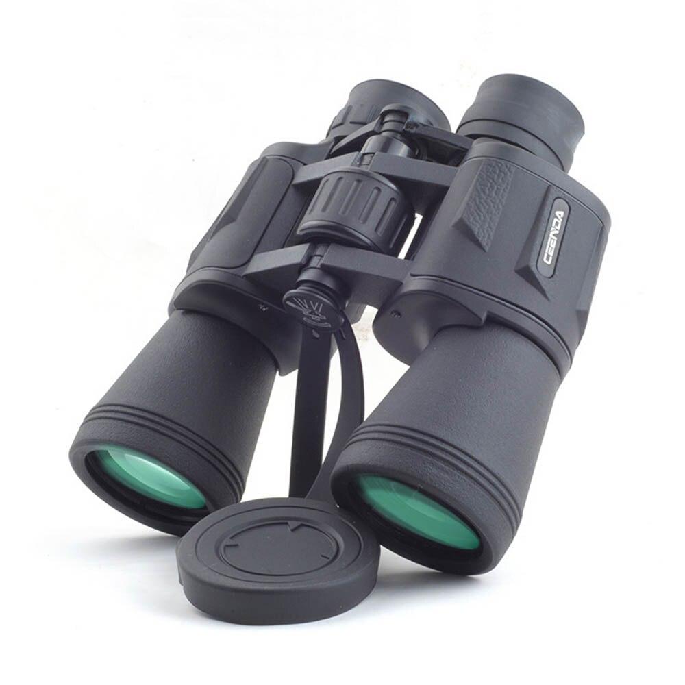 20x50 Grand Angle Télescope BAK4 HD 50mm Grand Objectif Bas Nuit Vision Jumelles pour Observation Des Oiseaux Voyages chasse Camping