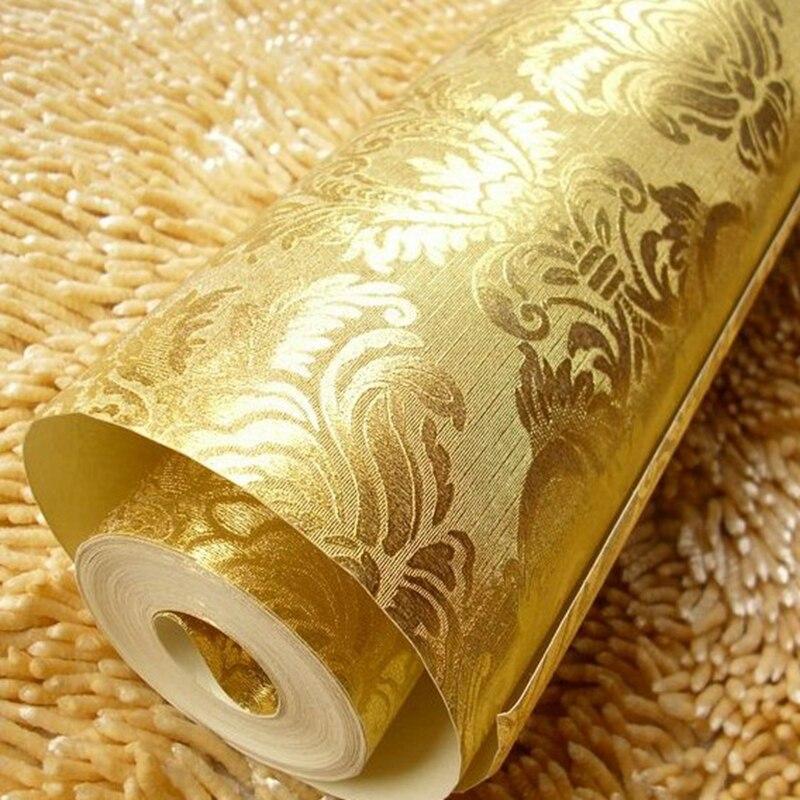 Online kopen wholesale reli f folie uit china reli f folie for 3d tapete gold
