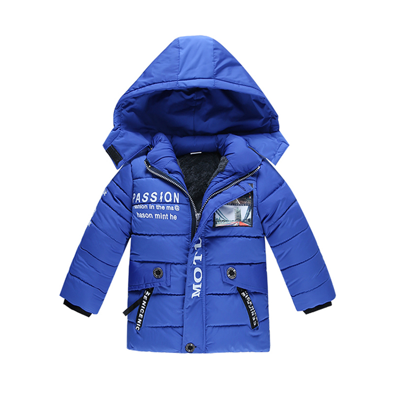 Children's clothing male winter cotton-padded jacket down cotton - Children's Clothing - Photo 2