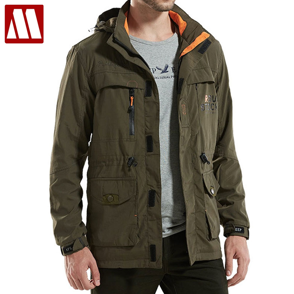 M65 Uk Us Army Clothes Hunter Tactical Windbreaker Men Winter Autumn Waterproof Flight Pilot Coat Hoodie Military Field Jacket Various Styles Hunting Coats & Jackets