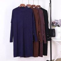 Платье из качественного трикотажа сливового цвета