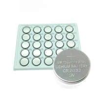 25pcs/Lot cr2032 battery relogio celular 3V Cell Coin Button lithium Li-ion DL2032 Watches clocks toys pilas knoopcel batterijen