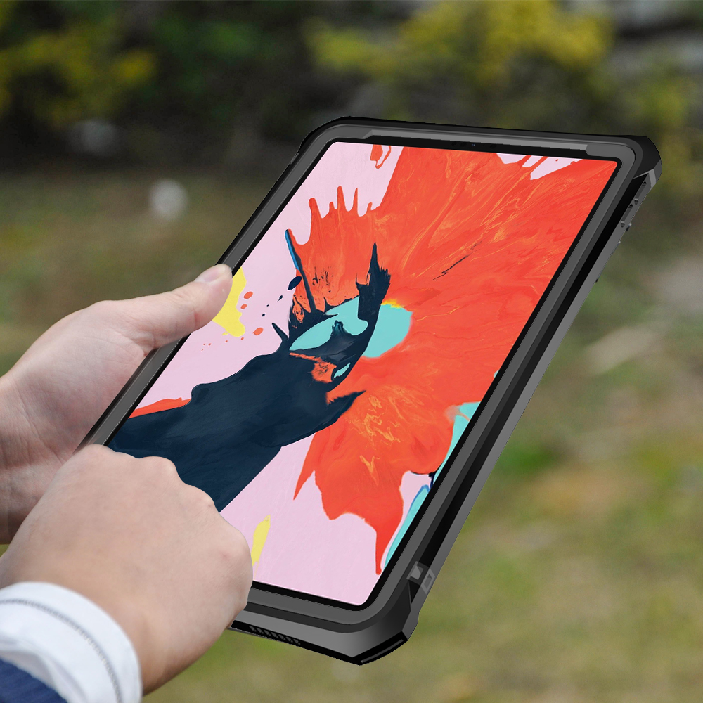 สีแดงพริกไทยยี่ห้อ IP68 กันน้ำกันกระแทก Drop Proof Anti   Slip Clear Clear กรณีฝาครอบด้านหลังสำหรับ Apple iPad Pro 11 นิ้ว-ใน เคสแท็บเล็ตและ e-Books จาก คอมพิวเตอร์และออฟฟิศ บน AliExpress - 11.11_สิบเอ็ด สิบเอ็ดวันคนโสด 1