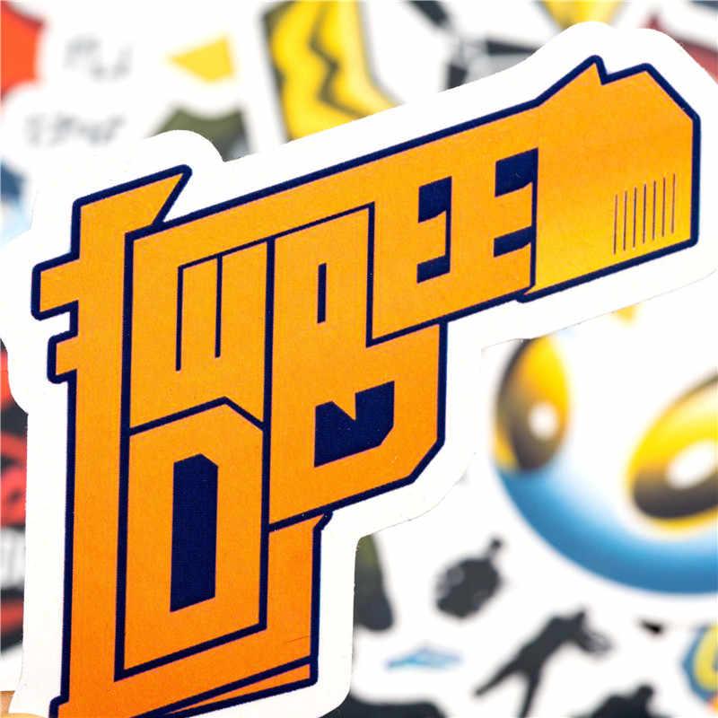 90 шт. Набор наклеек cs go набор забавных игровых наклеек для детский Багаж скейтборд ноутбук игрушки наклейки