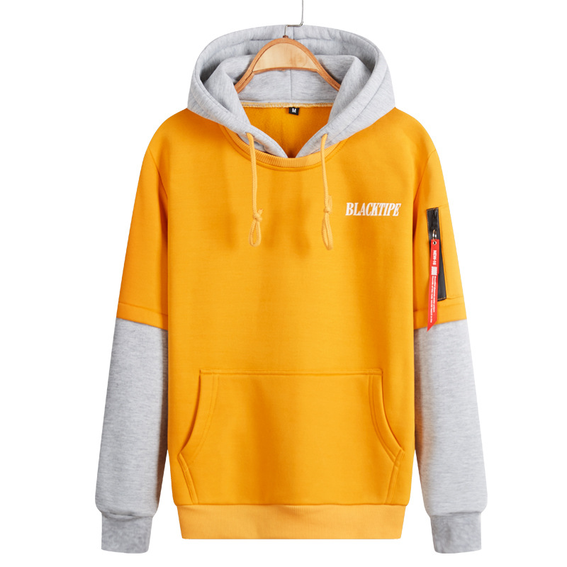 2017 Mens Spring Autumn Fashion Christmas Hoodies Sweatshirt Men Tops Outwear Pullover Patchwork Colors Plus Size M-XXXL 4XL