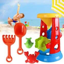 5 шт./компл. пляж игрушка набор воды песок играть инструмент фильтр песочницы открытый летний забавные пляжные игрушки для Для детей гаджеты
