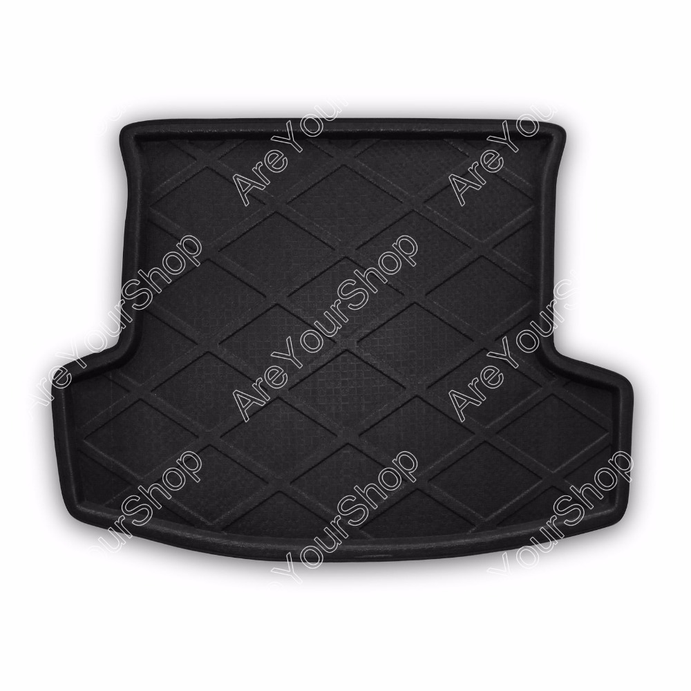 Areyourshop Auto Cargo Mat Boot liner Tray Rear Trunk Sticker Dog Pet Cover For Chevrolet Captiva 2008-2014  Car Styling Decal car rear trunk security shield cargo cover for lexus rx450h 2009 2015 parcel shelf shade trunk liner screen retractable