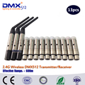 DHL Free Shipping 13pcs XLR 2.4G wireless DMX512 receiver&transmitter