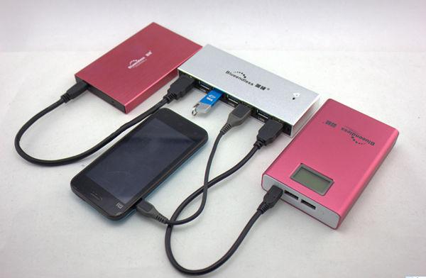 Alta calidad alimentado 7 puertos USB Hub 3.0 Hub USB portátil - Periféricos de la computadora - foto 5