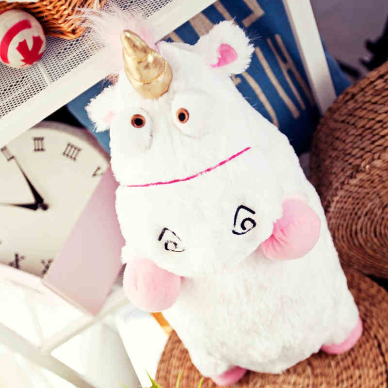 16 40cm Fluffy Unicorn Soft Plush Doll Toy Kids Toys New Brinquedos Soft Stuffed Animal Plush Toys Dolls stuffed animal 120 cm cute love rabbit plush toy pink or purple floral love rabbit soft doll gift w2226