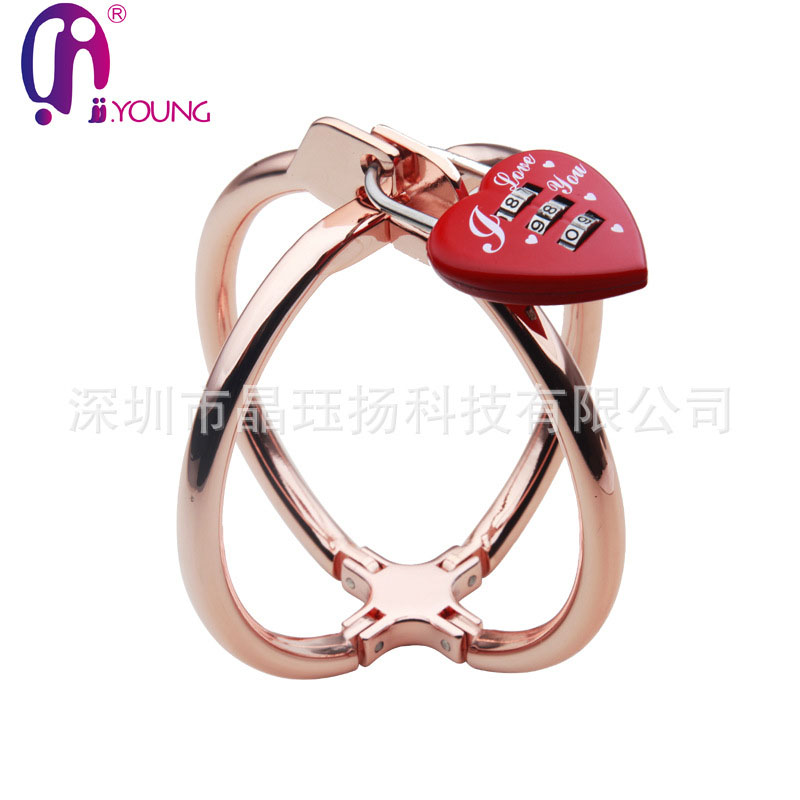 stainless steel fun handcuffs Adult sex toy Pretend Play Silver Metal HandCuffs With Keys handcuffs metal sex fun bdsm creative handcuffs style keychain silver