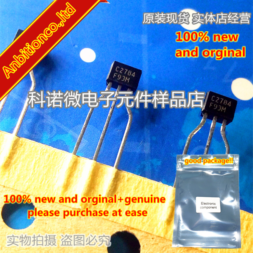 10pcs 100% New And Orginal 2SC2784 C2784 TO-92NPN SILICON TRANSISTOR In Stock
