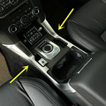 For Land Rover LR4 Discovery 4  Inner Gear Shift Box Frame Cover Trim 2013-2015 2pcs