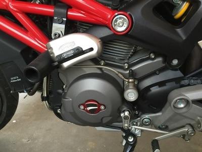 KODASKIN Αξεσουάρ μοτοσικλετών Δωρεάν αποστολή Εξώφυλλο καλύμματος για καπάκι για το DUCATI Diavel 1200