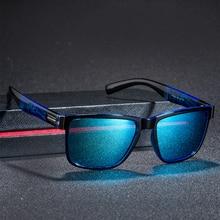 26ddedb825 Marca Diseño polarizadas gafas de sol hombres mujeres conducción de marco  cuadrado pescar conducir gafas de sol UV400, gafas