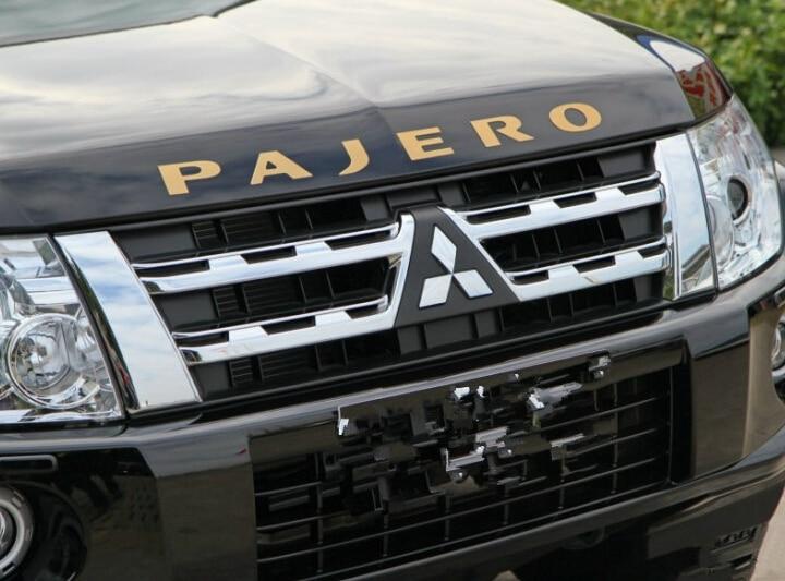 2010 2011 2012 2013 for Mitsubishi outlander pajero Engine Hoods for Mitsubishi 3D stick car accessories