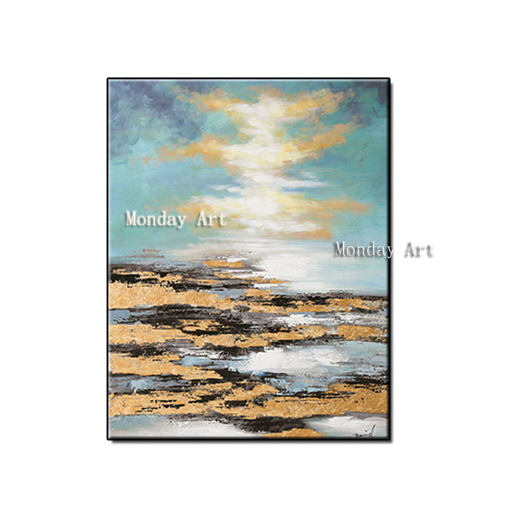 CC Artist-Hand-painted-High-Quality-Abstract-stone-blue-sky-Oil-Painting-on-Canvas-Handmade-Oil-Painting (5)