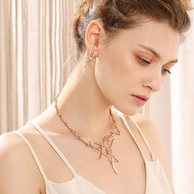 Viennois Necklace Earrings