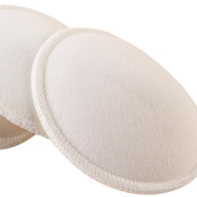 4 шт. груди впитывающие прокладки кормящих многоразовые кормления мягкий хлопок абсорбент м предотвращения разлива прокладки для бюстгальтера кормление грудью моющиеся
