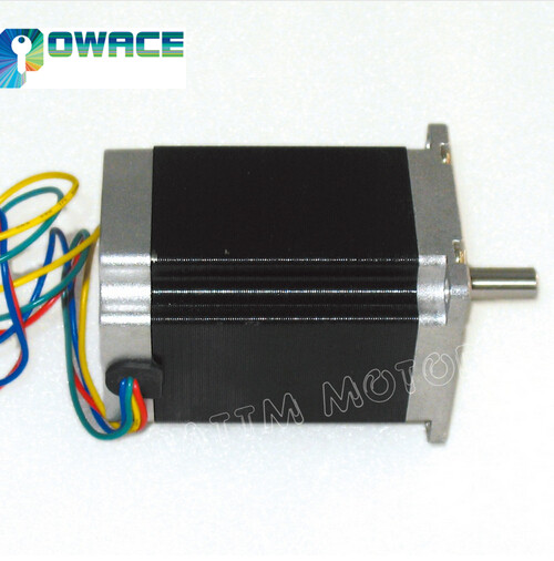 Nema23 81mm CNC Stpper Motor 308Oz-in 3.0A CNC 3D Printer Stepping Motor Router MachineNema23 81mm CNC Stpper Motor 308Oz-in 3.0A CNC 3D Printer Stepping Motor Router Machine