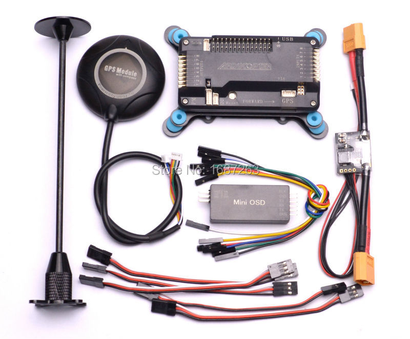 APM 2 6 ArduPilot Mega APM2 6 Flight Control Board M8N 8N GPS with GPS Holder